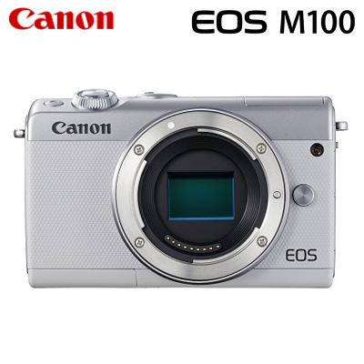 Canon キヤノン ミラーレス一眼 EOS M100 ボディー デジタルカメラ EOSM100WH-BODY ホワイト【送料無料】【KK9N0D18P】