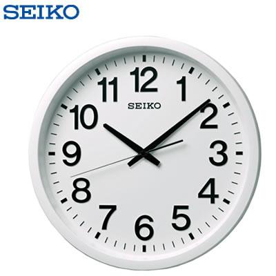 セイコー クロック 掛け時計 衛星 電波 アナログ 白 GP202W SEIKO 【送料無料】【KK9N0D18P】