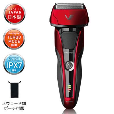 イズミ 3枚刃 シェーバー IZF-V917-R レッド 泉精器製作所 IZUMI【KK9N0D18P】