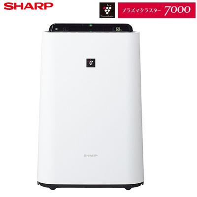 シャープ プラズマクラスター7000 加湿空気清浄機 KC-H50-W ホワイト系【送料無料】【KK9N0D18P】
