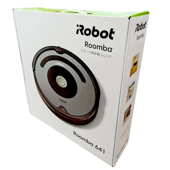 【即納】国内正規品 ルンバ641 600シリーズ 掃除機 Roomba641 スタンダード Roomba641 ブルーシルバー R641060 お掃除ロボット アイロボット 【送料無料】【KK9N0D18P】