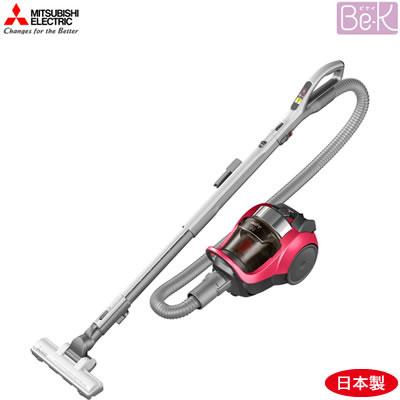 三菱電機 掃除機 サイクロン式クリーナー Be-K ビケイ TC-EXH7J-R ローズレッド【送料無料】【KK9N0D18P】