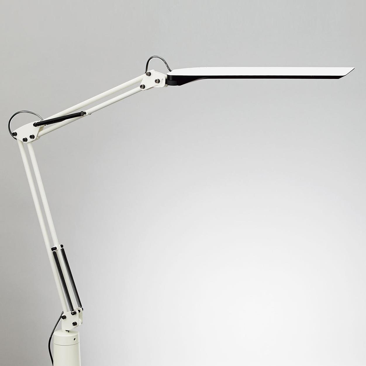 山田照明 Zライト LEDデスクライト 調光・調色タイプ Z-N1100W ホワイト×ブラック 工場作業用照明 【送料無料】【KK9N0D18P】