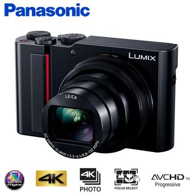 パナソニック コンパクトデジタルカメラ LUMIX ルミックス デジカメ コンデジ DC-TX2 ブラック 【送料無料】【KK9N0D18P】