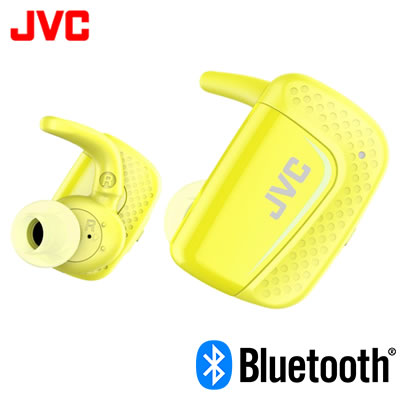 JVC イヤホン ワイヤレスステレオヘッドセット HA-ET900BT-Y イエロー【送料無料】【KK9N0D18P】