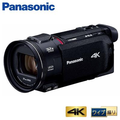 【即納】パナソニック デジタルビデオカメラ 4K ワイプ撮り 64GB HC-WXF1M-K ブラック【送料無料】【KK9N0D18P】