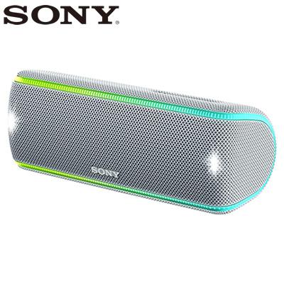 ソニー ワイヤレスポータブルスピーカー SRS-XB31-W ホワイト【送料無料】【KK9N0D18P】