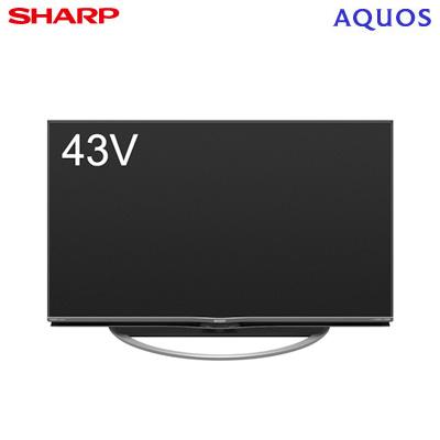 シャープ 43V型 液晶テレビ 4K対応 アクオス AM1ライン 4T-C43AM1【送料無料】【KK9N0D18P】