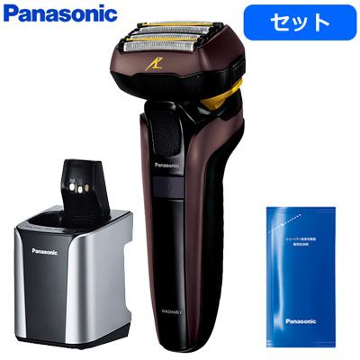 【セット】パナソニック メンズシェーバー ラムダッシュ 5枚刃 ES-LV7D-T +洗浄充電器専用洗浄剤 ES-4L03 ES-LV7D-T-ES-4L03【送料無料】【KK9N0D18P】