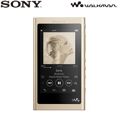 ソニー ウォークマン Aシリーズ NW-A50シリーズ 16GB NW-A55-N ペールゴールド 本体のみ 2018年モデル SONY WALKMAN【送料無料】【KK9N0D18P】