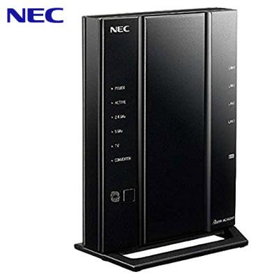 【キャッシュレス5%還元店】NEC 11ac対応 1733Mbps + 800Mbps 無線LANルーター Wi-Fiルーター Aterm WG2600HP3 PA-WG2600HP3【送料無料】【KK9N0D18P】