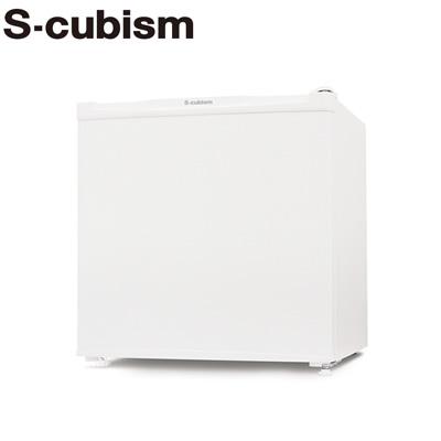 エスキュービズム 46L 冷蔵庫 1ドア 左右開き対応 R-46WH ホワイト【送料無料】【KK9N0D18P】