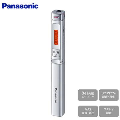 【キャッシュレス5%還元店】パナソニック ICレコーダー スティック型 RR-XP009-S シルバー【送料無料】【KK9N0D18P】