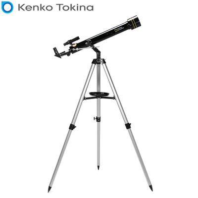 【キャッシュレス5%還元店】NATIONAL GEOGRAPHIC 90-11100 屈折式天体望遠鏡 ブラック Kenko【送料無料】【KK9N0D18P】