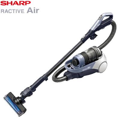 シャープ 掃除機 コードレスキャニスターサイクロン掃除機 RACTIVE Air EC-AS510-V バイオレット系【送料無料】【KK9N0D18P】