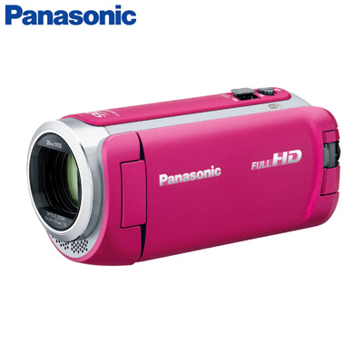 【キャッシュレス5%還元店】パナソニック デジタルハイビジョンビデオカメラ 64GBメモリー内蔵 HC-W590M-P ピンク【送料無料】【KK9N0D18P】