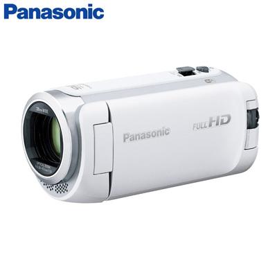 【キャッシュレス5%還元店】パナソニック デジタルハイビジョンビデオカメラ 64GBメモリー内蔵 HC-W590M-W ホワイト【送料無料】【KK9N0D18P】