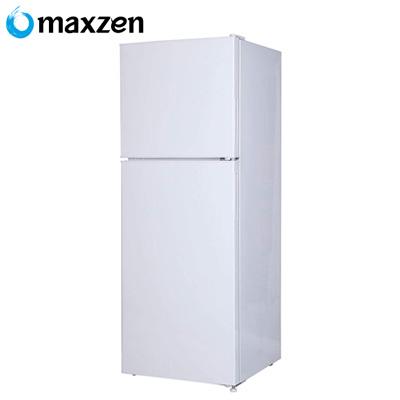 マクスゼン 2ドア 冷凍 冷蔵庫 右開き 138L JR138ML01WH ホワイト【送料無料】【KK9N0D18P】