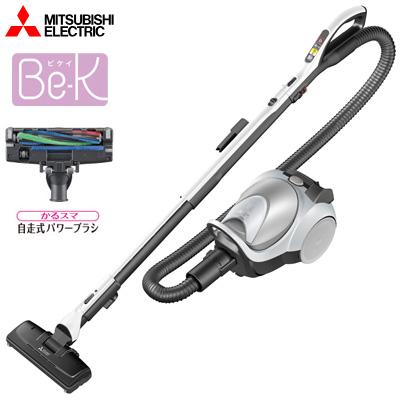 【即納】三菱 掃除機 紙パック式クリーナー かるスマ 自走式パワーブラシ ビケイ Be-Kシリーズ TC-FM1J-S シルバー【送料無料】【KK9N0D18P】