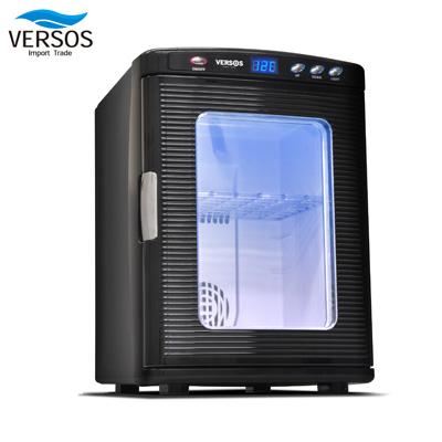 ベルソス 25リットル冷温庫 AC・DC対応 VS-404BK ブラック【送料無料】【KK9N0D18P】