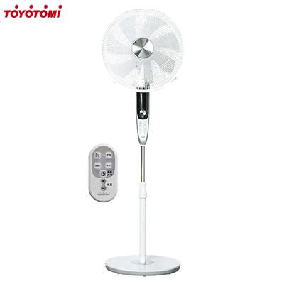 【キャッシュレス5%還元店】トヨトミ DCモーター フロア 扇風機 FS-FD40JR-W ホワイト【送料無料】【KK9N0D18P】