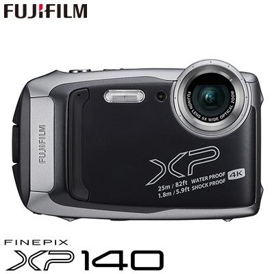 富士フイルム タフネスカメラ FinePix XP140 防水 耐衝撃 防塵 耐寒 4K動画 デジタルカメラ XPシリーズ FX-XP140DS ダークシルバー【KK9N0D18P】