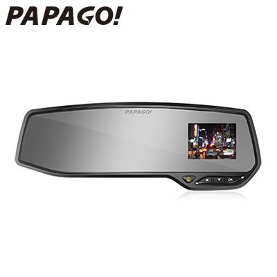 PAPAGO ルームミラー型 ドライブレコーダー GoSafe 268 microSDHCカード16GB付属 GS268-16G【送料無料】【KK9N0D18P】