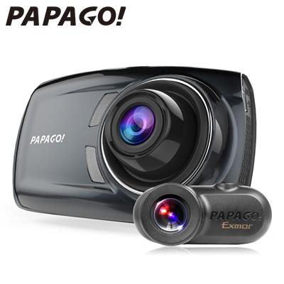 【ポイント最大43倍!~4/16(火)1:59迄※要エントリー】PAPAGO 2カメラ ドライブレコーダー GoSafe S36GS1 microSDHCカード32GB付属 GSS36GS1-32G【送料無料】【KK9N0D18P】
