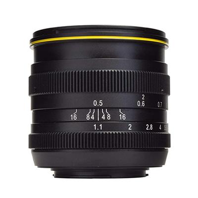 【キャッシュレス5%還元店】KAMLAN カムラン 単焦点レンズ FS50mm F1.1 マイクロフォーサーズマウント KAM0009【送料無料】【KK9N0D18P】