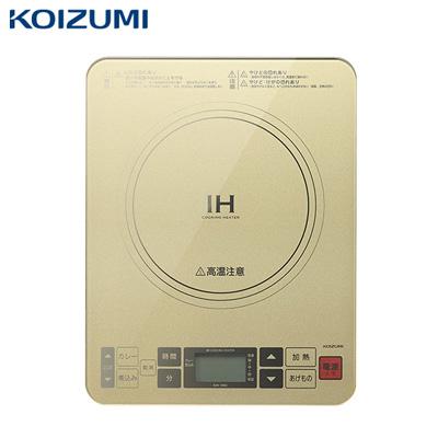 コイズミ IHクッキングヒーター KIH-1403 ゴールド【送料無料】【KK9N0D18P】