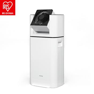 アイリスオーヤマ サーキュレーター衣類乾燥除湿機 KIJD-I50 ホワイト デシカント式【送料無料】【KK9N0D18P】
