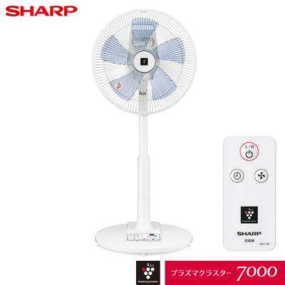シャープ プラズマクラスター扇風機 リビングファン PJ-J3AS-A ブルー系【送料無料】【KK9N0D18P】