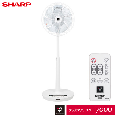 【キャッシュレス5%還元店】シャープ プラズマクラスター扇風機 ハイポジション リビングファン DCモーター PJ-J3DS-W ホワイト系【送料無料】【KK9N0D18P】