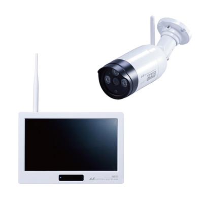 日本アンテナ 防犯カメラ ドコでもeye Security SC05ST 白【送料無料】【KK9N0D18P】