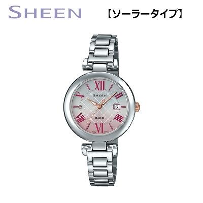 【キャッシュレス5%還元店】【正規販売店】カシオ 腕時計 CASIO SHEEN レディース SHS-4502D-4AJF 2019年5月発売モデル【送料無料】【KK9N0D18P】