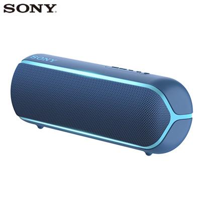 ソニー ワイヤレスポータブルスピーカー SRS-XB22-L ブルー SONY【送料無料】【KK9N0D18P】