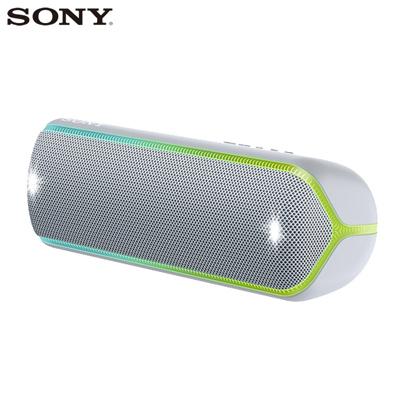 ソニー ワイヤレスポータブルスピーカー SRS-XB32-H グレー SONY【送料無料】【KK9N0D18P】