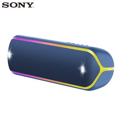 ソニー ワイヤレスポータブルスピーカー SRS-XB32-L ブルー SONY【送料無料】【KK9N0D18P】