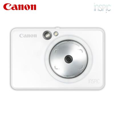 【キャッシュレス5%還元店】キヤノン インスタントカメラプリンター iNSPiC ZV-123-PW パールホワイト【送料無料】【KK9N0D18P】