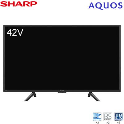 シャープ 42V型 液晶テレビ アクオス BE1ライン 2T-C42BE1 SHARP AQUOS【送料無料】【KK9N0D18P】