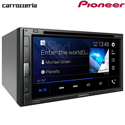 パイオニア カロッツェリア カーオーディオ 2DIN AppleCarPlay AndroidAuto対応 CD/DVD/USB/Bluetooth FH-8500DVS【送料無料】【KK9N0D18P】