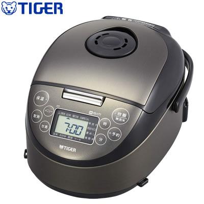 【キャッシュレス5%還元店】タイガー 3合炊き 炊飯器 IH炊飯ジャー 炊きたて JPF-N550-K サテンブラック【送料無料】【KK9N0D18P】