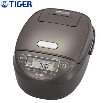 【キャッシュレス5%還元店】タイガー 5.5合炊き 炊飯器 圧力IH炊飯ジャー 炊きたて JPK-B100-T ブラウン【送料無料】【KK9N0D18P】