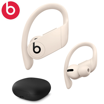 【キャッシュレス5%還元店】beats by dr.dre Powerbeats Pro H1チップ搭載 完全ワイヤレス イヤホン 耐汗 防沫性 Bluetooth MV722PAA アイボリー MV722PA/A【送料無料】【KK9N0D18P】