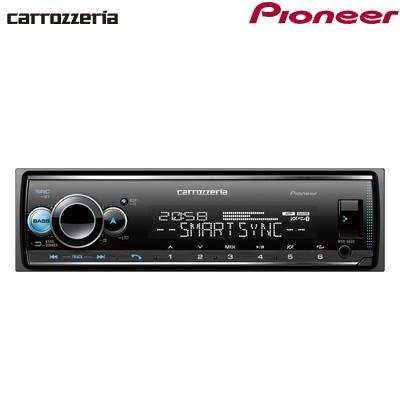 パイオニア カロッツェリア カーオーディオ 1DIN USB/Bluetooth MVH-6600【送料無料】【KK9N0D18P】