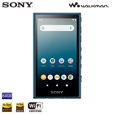 ソニー ウォークマン Aシリーズ NW-A100シリーズ 64GB NW-A107-L ブルー SONY WALKMAN【送料無料】【KK9N0D18P】
