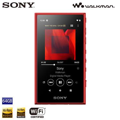 ソニー ウォークマン Aシリーズ NW-A100シリーズ 64GB NW-A107-R レッド SONY WALKMAN【送料無料】【KK9N0D18P】