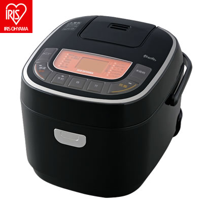 【キャッシュレス5%還元店】アイリスオーヤマ 5.5合炊き 炊飯器 銘柄炊き RC-MC50-B【送料無料】【KK9N0D18P】