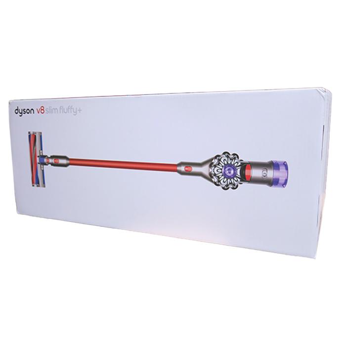代引き手数料無料 送料無料 延長保証申込可 即納 ダイソン 掃除機 Dyson V8 Slim 数量限定アウトレット最安価格 KK9N0D18P ニッケル コードレスクリーナー アイアン 信頼 レッド サイクロン式 Fluffy+ SV10KSLMCOM