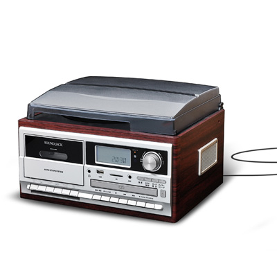 【キャッシュレス5%還元店】ベルソス マルチレコードプレーヤー VS-M009【送料無料】【KK9N0D18P】